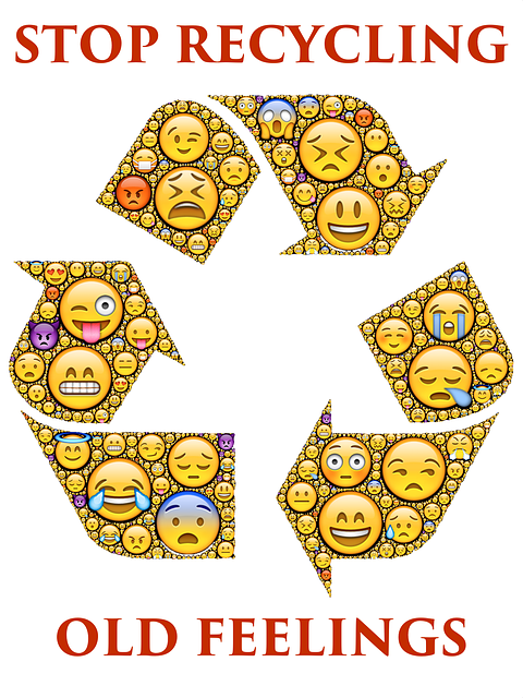 Recycling, Old Feelings, Emoticons, Emotions, Stop