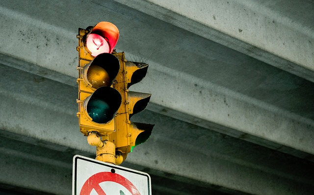Sign, Stoplight, Green, Yellow, City