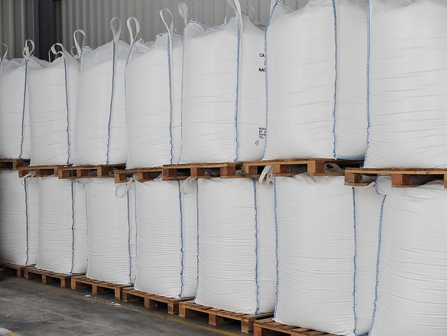 Big Bag, Commodity, Chemistry, Storage, Depot