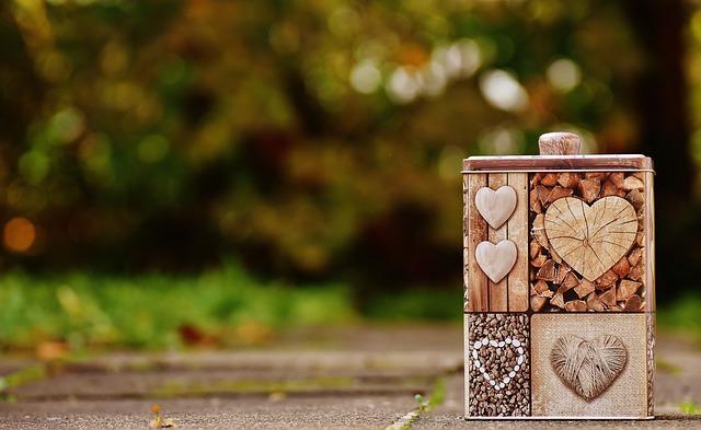 Box, Heart, Love, Storage, Packaging, Store, Practical