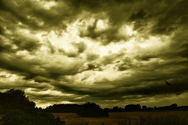 Storm, Clouds, Sky, Landscape