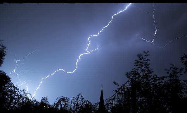 Lightning, Storm