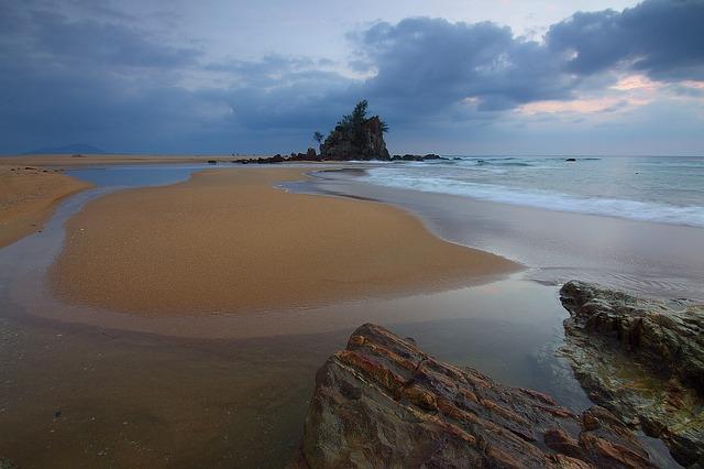 Seascape, Storm, Landmark