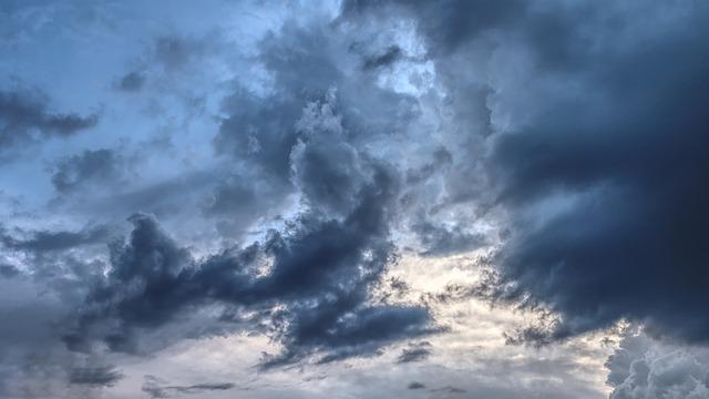 Thunderstorm, Clouds, Thundercloud, Storm, Sky, Forward