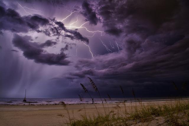 Lightning, Storm, Weather, Thunderstorm, Thunder, Sky