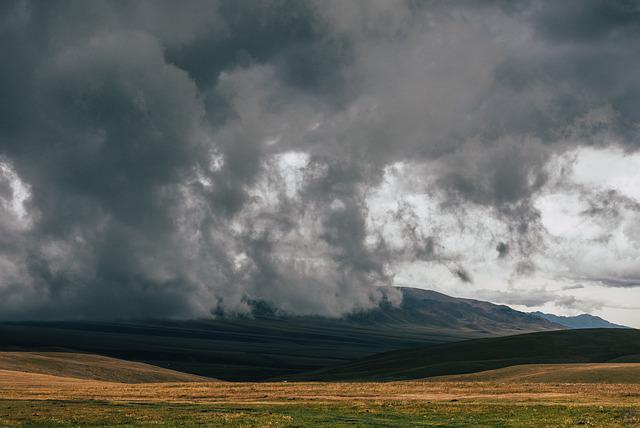 Outdoor, Stormy, Weather, Grey, Clouds, Storm, Rough