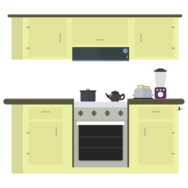 Kitchen, Stove, Oven, Range Hood, Cook, Cooking Pot