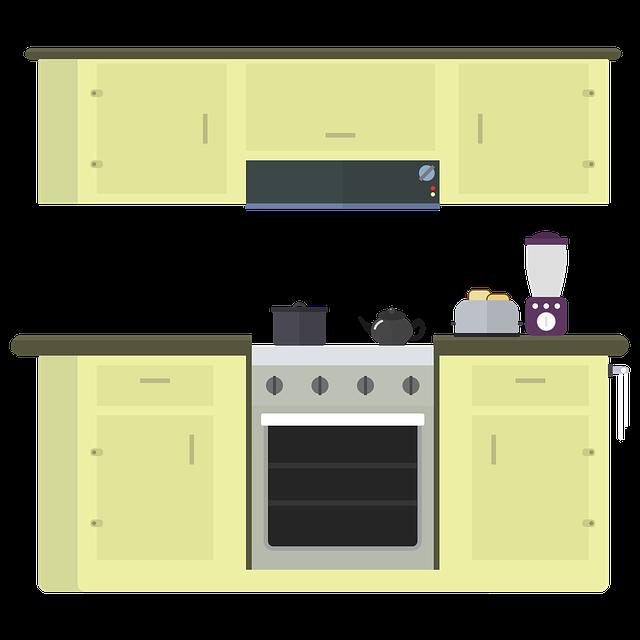 Kitchen, Stove, Oven, Range Hood, Cook, Cooking Pot
