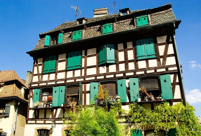France, Strasbourg, Medieval Town, Alsace
