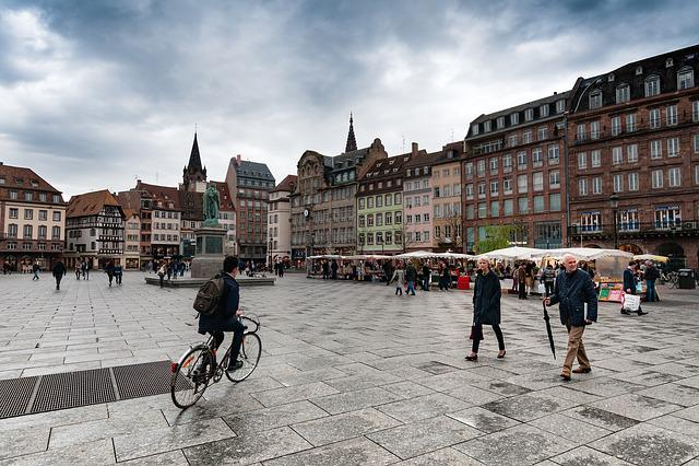 Place Kléber, Strasbourg, France, European, Alsace