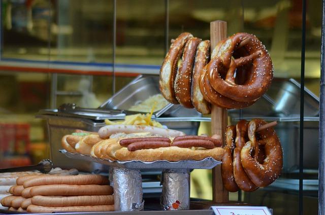 Pretzels, Sausage, Strasbourg, Power, Alsace
