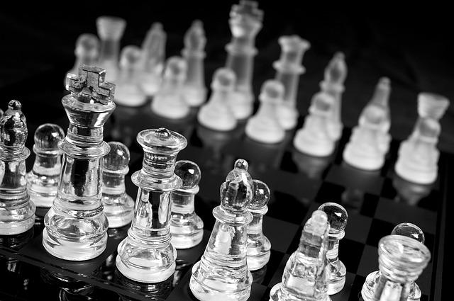 Chess, Pawn, Queen, Knight, Mate, Victory, Strategic