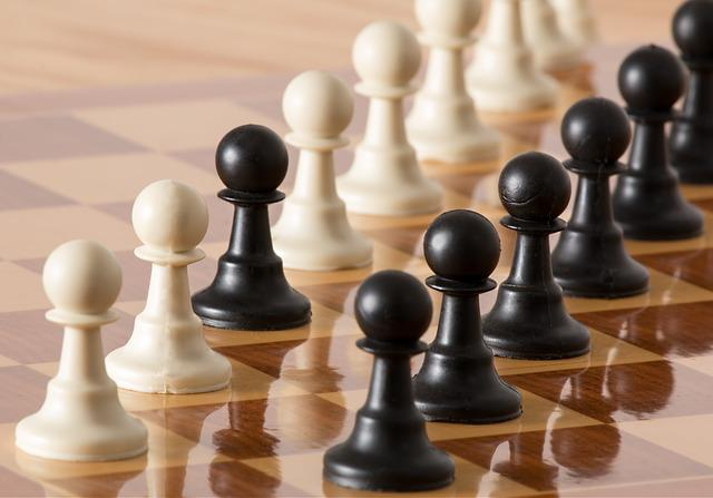 Pawn, Chess Pieces, Strategy, Chess, Board, Game, White