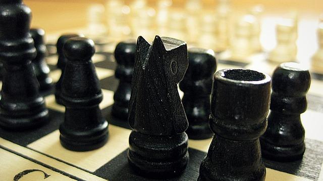 Chess, Game, Strategy, Intelligence, Black, White