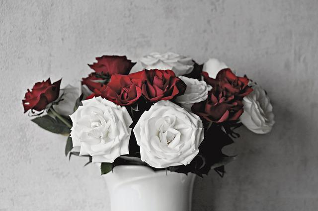 Roses, Bouquet Of Roses, Bouquet, Strauss, Flowers