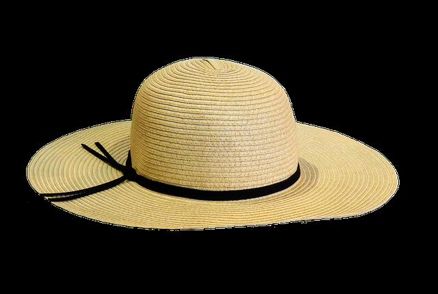 Hat, Sun Protection, Summer, Sun Hat, Straw Hat