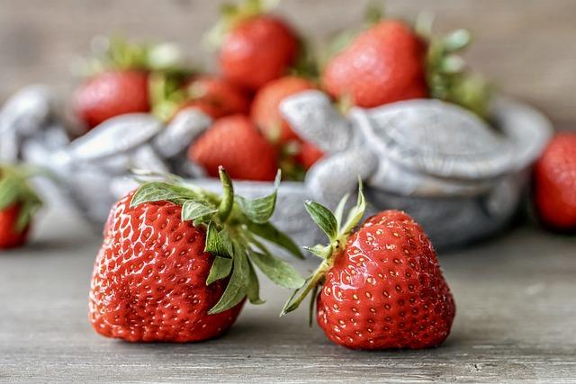 Strawberries, Ripe, Still Life, Biodiversity, Bio