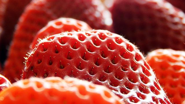 Strawberry, Fruit, Dessert, Food, Berry, Red