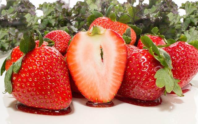Fruit, Strawberry, Food, Sweet, Healthy