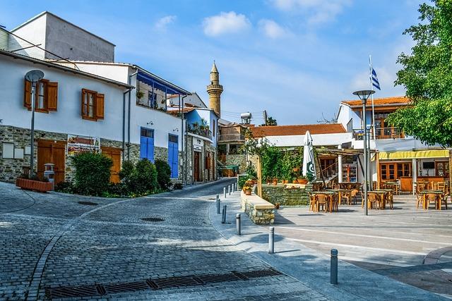Cyprus, Kalavassos, Street, Architecture, Traditional