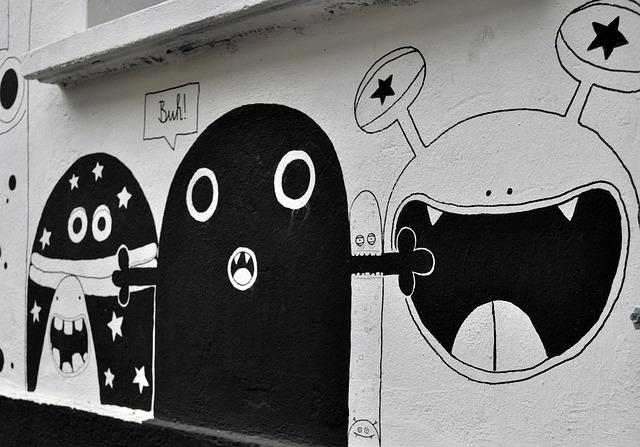 Berlin, Street Art, Art, Facade, Hauswand, Graffiti