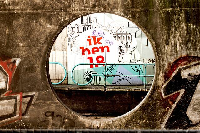 Graffiti, I Am 18 Years Old, Street Art