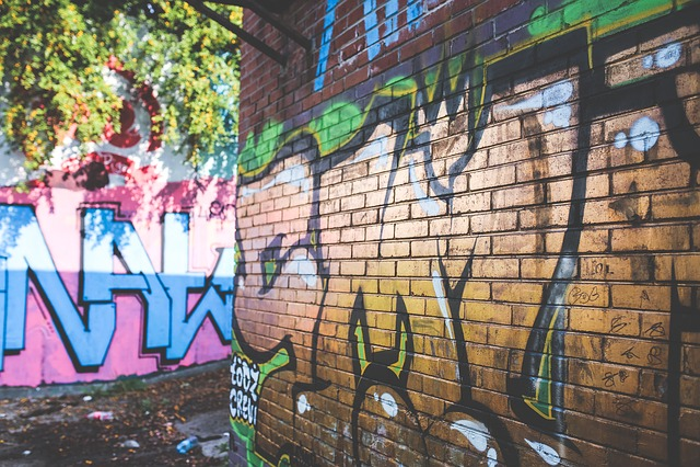 Graffiti, Gold, Wall, Street Art, Streetart, Street