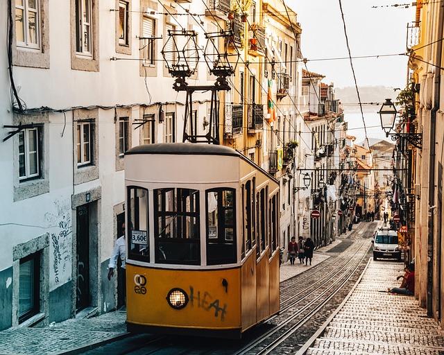 Trolley, Street Car, Transport, Rail, Train, City