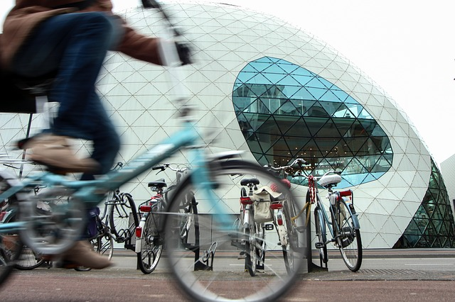 Eindhoven, Cycling, Architecture, Netherlands, Street
