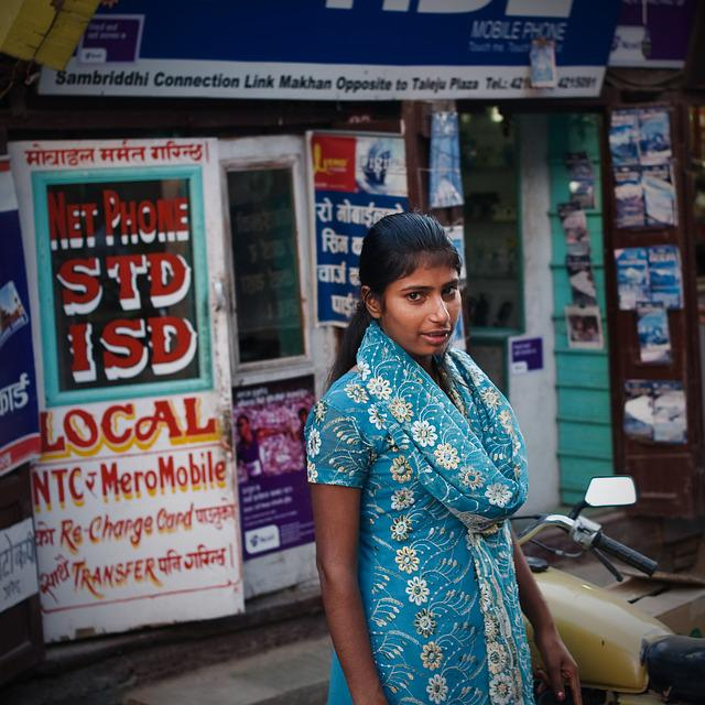 Nepal, Girls, Street