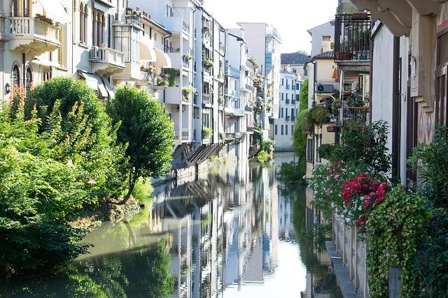 Italy, Padova, Europe, Architecture, Buildings, Street