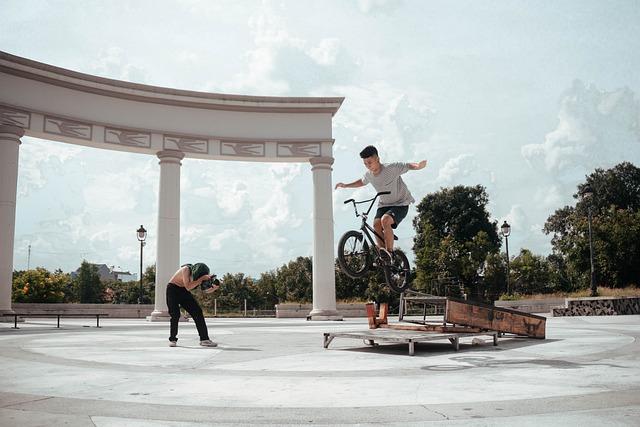 Bmx, Sport, Bike, Jumps, Street, No Hand