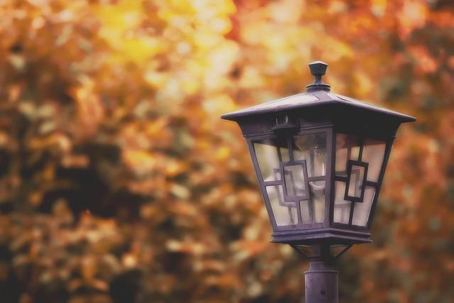 Street Lamp, Light, Lantern, Lamp, Lighting, Road