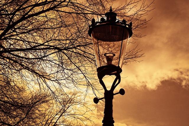 Streetlamp, Lantern, Street Lantern, Lamppost, Light