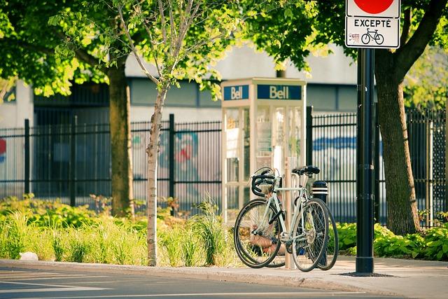 Montreal, Quebec, Bike, Street, Pavement, Urban