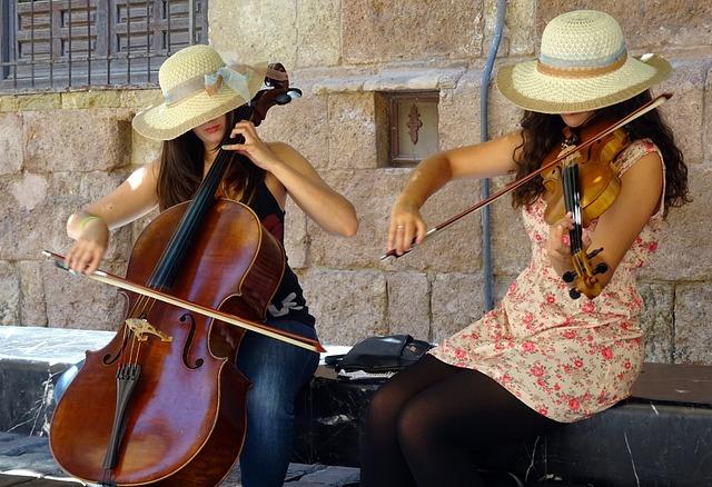 Classic, Cello, Street Music, Spain, Listening Pleasure