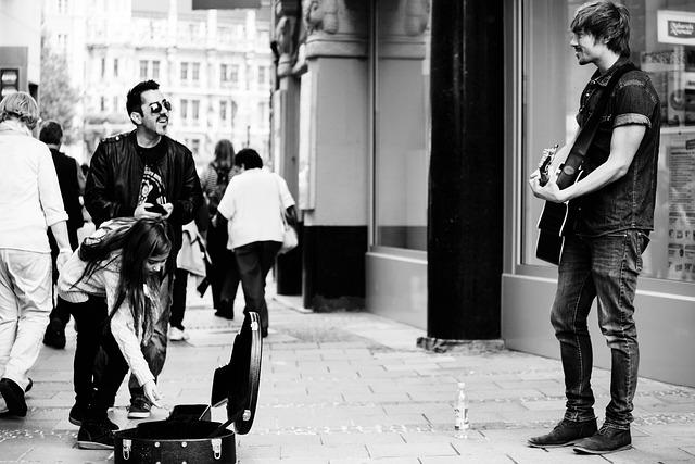 Street Musicians, Guitar, Entertainment, Musician