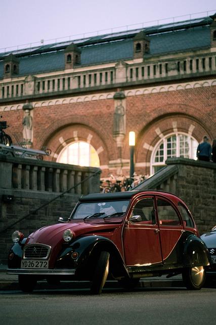 Car, Street, Old, Vintage, Style, Road, Transportation