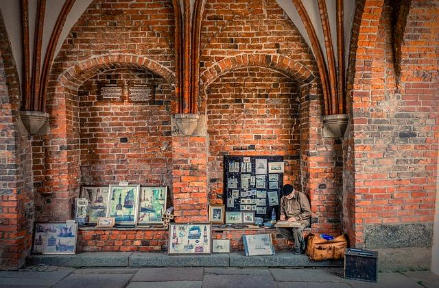 Holsten Gate, Street Painter, Street Traders, Artists