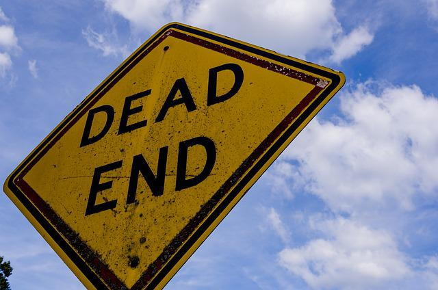 Sign, Street, Dead End