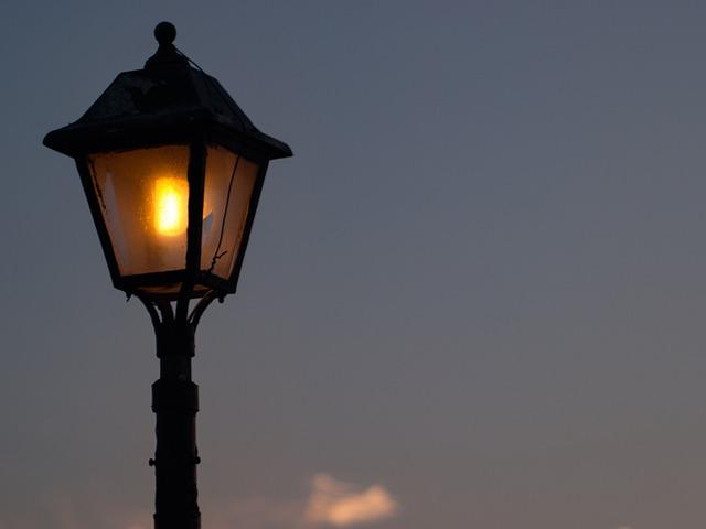 Lamppost, Lantern, Lighting, Light, Street, City, Sky