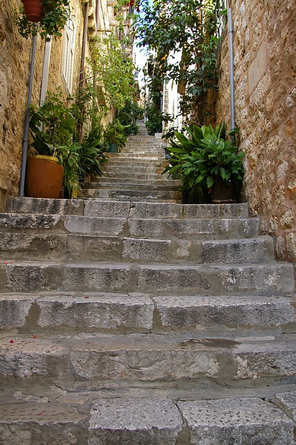 Stairs, Dubrovnik, The Old Town, Street