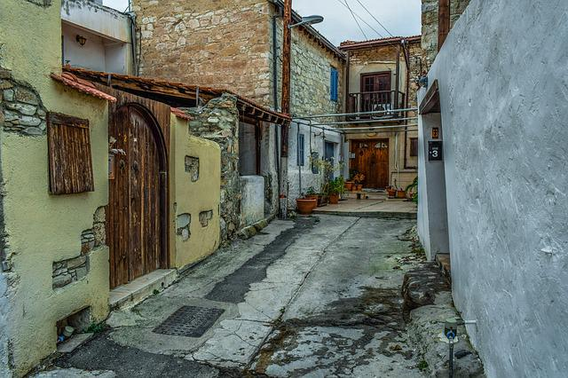 Architecture, Traditional, Street, House, Village, Old
