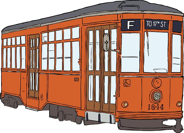 Tram, Streetcar, Transportation, Public Transport