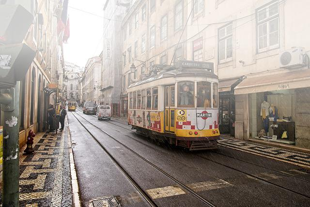 Lisbon, Portugal, Streetlife, Public Transport, Tram