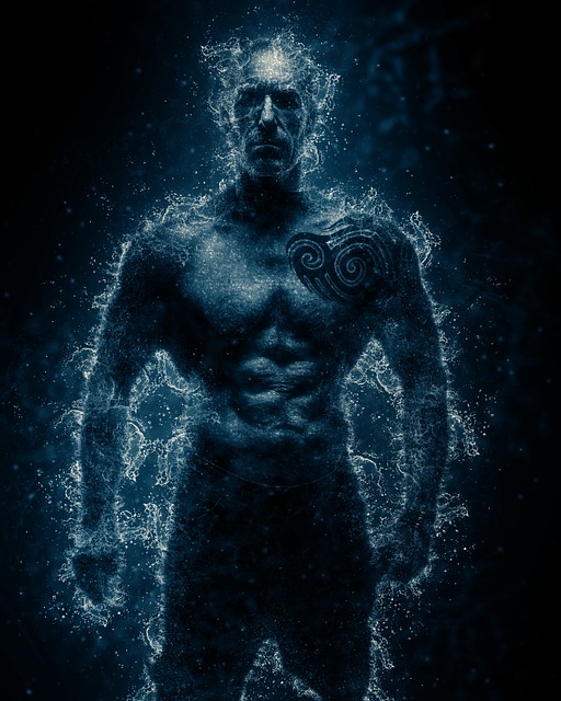 Man, Power, Body, Strength, Fitness, Athlete, Water