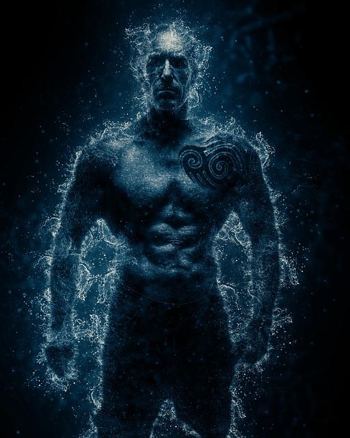 Man, Power, Body, Strength, Fitness, Athlete, Water