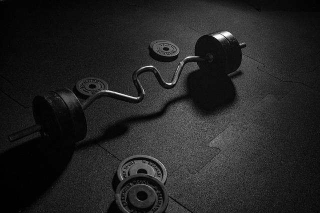 Dumbbell, Sport, Weights, Gym, Strength Training