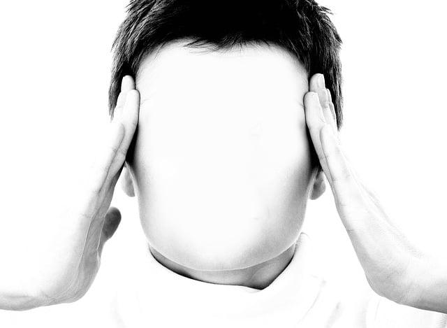 Face, Woman, Mask, Hand, Stress, Headache, Self, Hidden
