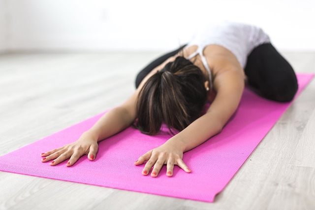Woman, Yoga, Stretching, Meditation, Fitness